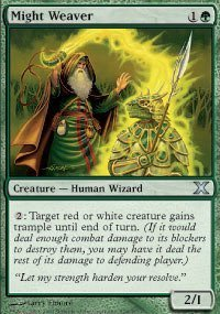Magic: the Gathering - Might Weaver (278/383) - Tenth Edition - Foil by Magic: the Gathering
