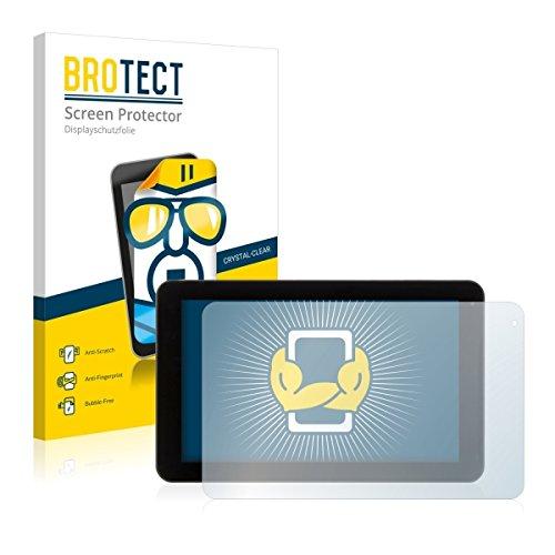 2X BROTECT HD Clear Bildschirmschutz Schutzfolie für Xoro TelePAD 9A1 (kristallklar, extrem Kratzfest, schmutzabweisend)