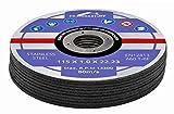 50 Stück INOX Trennscheiben 115 x 1,0 mm für Trenn- oder Winkelschleifer, Trennschleifer, Flex