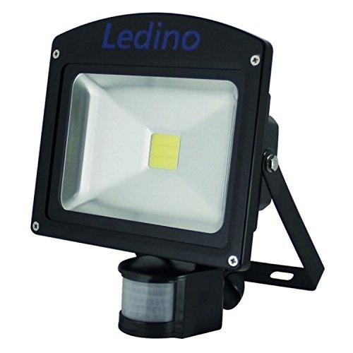 Ledino Ledisis High Power LED-Flutlichtstrahler, IR-Sensor, 20 W, kalt-/warmweiß Warmweiß
