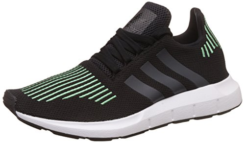 adidas Swift Run, Zapatillas de Gimnasia Para Hombre, Negro (Core Black/Utility Black F16/Ftwr White), 44 EU