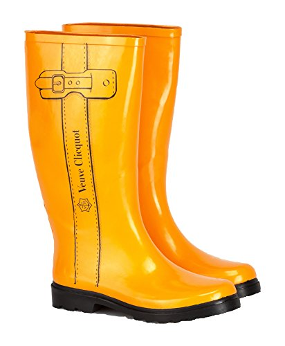 yellow-label-rain-boots-grosse-38-39-champagne-veuve-clicquot
