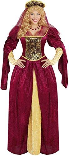 Widmann 05592 - Erwachsenenkostüm Royal Queen, Kleid und -