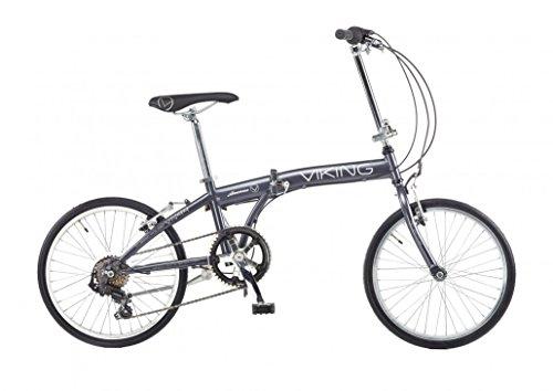 Klapprad Fahrrad Viking Avenue 6 Gang Shimano Grau,...