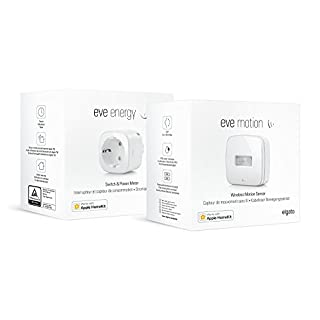 Eve Bewegungsmelder-Set - Eve Motion und Eve Energy, Bluetooth Low Energy (Apple HomeKit)
