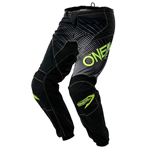 O\'Neal Element Racewear MX Motocross Hose Pant Enduro Offroad Motorrad Quad Cross Erwachsene, 0108, Farbe Hi-Viz Gelb, Größe 36