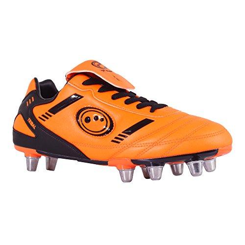 Optimum - Stivali, Uomo Fluro Orange/Black