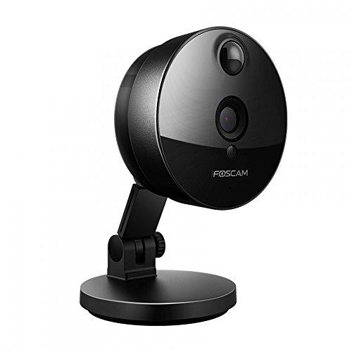 Foscam C1 IP Kamera, 720p HD Überwachungskamera Foscam C1 IP Kamera, 720p HD Überwachungskamera für den Innenbereich WLAN-Standard 802.11n zwei...