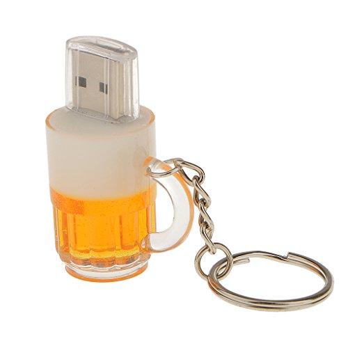 Sharplace birra boccale ad alta velocità usb 2.0 flash pendrive memoria disco portachiavi - 32gb