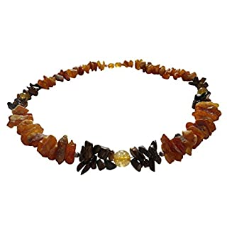 Dog Amber Necklace Necklace Tiger Eye And Citrine 51 cm 00514.16d Amberdog