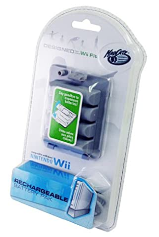 Pack batterie rechargeable Madcatz pour Wii Fit
