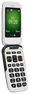 Doro PhoneEasy 615gsm Mobiltelefon (3G GSM) mit großem beleuchteten Display (Notruftaste, extra großen Tasten), schwarz