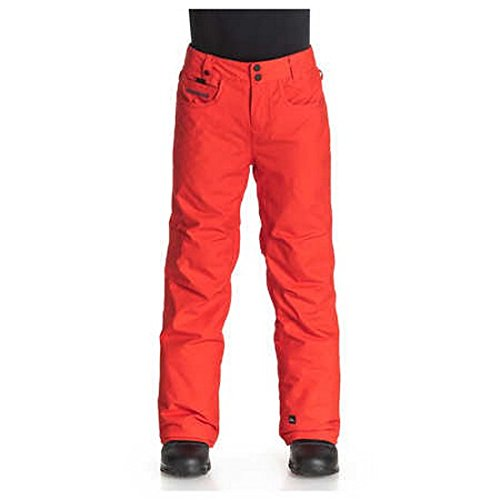 QUIKSILVER Jungen Schnee Hose State Youth Pants, Poinciana, 10