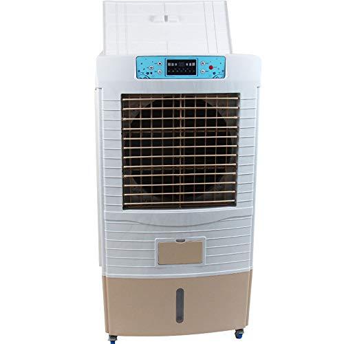 LDDCUTE KlimageräT Mobil Mobile Klimaanlage LuftküHler Klimaanlage DREI-seitiger Nasser Vorhang Schnelles Kühlen Fernbedienung Energie sparen Energiesparen Befeuchtung Reinigung