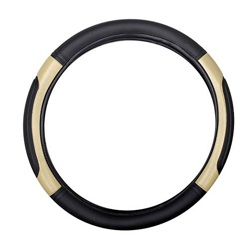 delhi traderss highly quality black and beige car steering cover for honda amaze Delhi traderss Highly Quality Black and Beige Car Steering Cover for Honda Amaze 41Uig1AoVCL