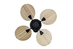 Fanzart Atom- Wooden Wall-Mount Fan