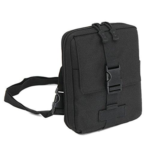 F@Esercito ventilatore nylon impermeabile borsa a tracolla borsa all'aperto borsa borse tattiche Messenger borse uomo custodia tool Digital Camo , F B