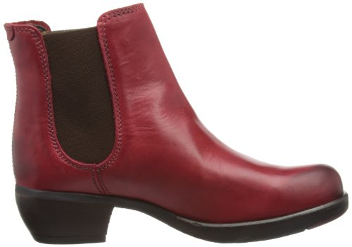 Fly London Make, Stivali Chelsea Donna Rosso (Red 006)