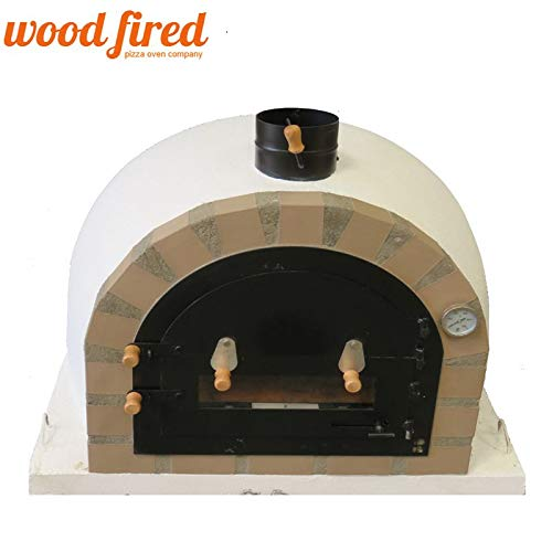 Sand Pro-Deluxe Wood Fired Pizza Oven (5), 90cm