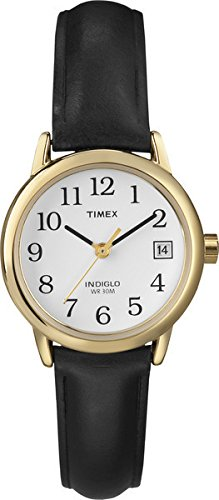 timex-femme-t2h341-heritage-easy-reader-quartz-analogique-blanc-marron-cuir