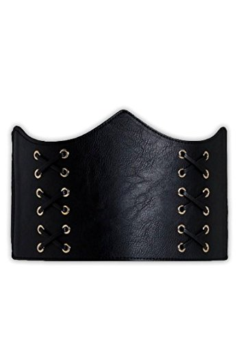 Shape-Wear Belts For Girls Ladies Corsets Brown Black Cream Slim-ming PU Leather Belt Waist Trainer Party Outfit Trendy Classy Accessory Womens-wear