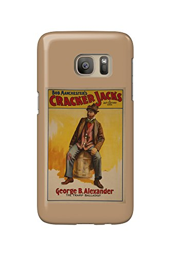 the-cracker-jacks-the-tramp-balladist-poster-galaxy-s7-cell-phone-case-slim-barely-there