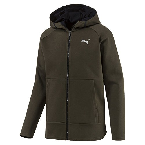 Puma Herren Bnd Tech Protect Jacket Jacke, Forest Night, S