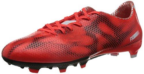 adidas F10 FG, Herren Fußballschuhe, Rot (Solar Red/Ftwr White/Core Black), 44 EU (9.5 Herren UK)