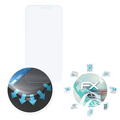 atFolix Schutzfolie passend für Allview Soul X5 Mini Folie, ultraklare & Flexible FX Bildschirmschutzfolie (3X)