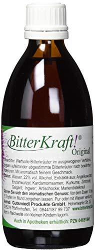 Bitterkraft Original In 5 Größen - Bitterstoffe Tropfen Nach Hildegard Von Bingen - Ausgewogene Kräuter Vor Dem Essen - 200ml Bittertropfen Kräuterbitter