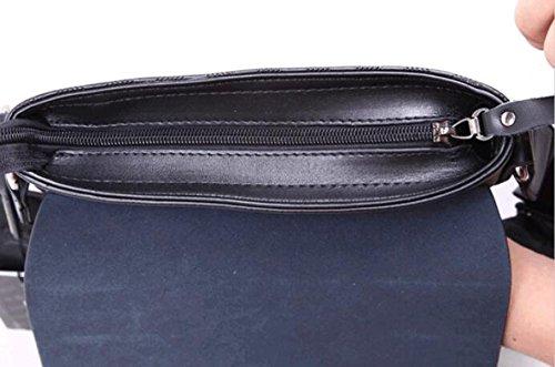 Maschio Bag Sezione Verticale Spalla Messenger Bag Di Pelle Casual In Pelle Business Casual Borsa Da Viaggio Sacchetto Degli Uomini Brown
