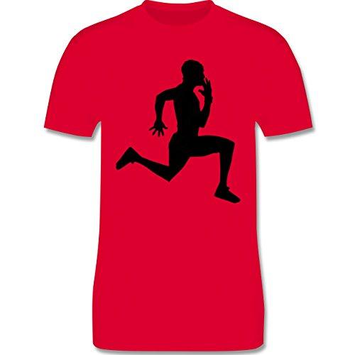 Laufsport - Läufer - Herren Premium T-Shirt Rot