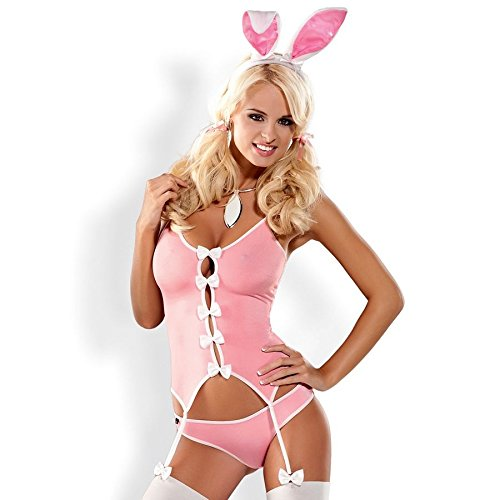 Kostüm Suit Bunny - Obsessive Bunny Suit L/XL Kostüm