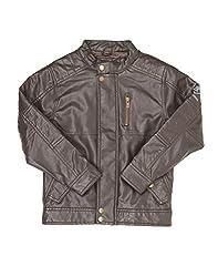 Pepe Jeans Boys Casual Jacket(_8907557330951_Dark Brown_4_)