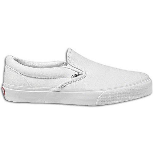 Vans Classic Slip-on Mädchen Weiß Turnschuhe Schuhe Neu