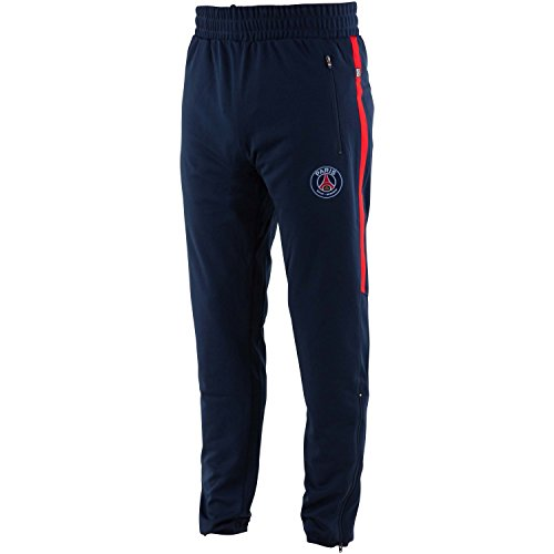 Paris Saint Germain Herren-Trainingshose PSG, offizielle Kollektion, Erwachsenengröße XL blau