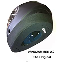 "WINDJAMMER 2 ""REDUCES WIND NOISE"" fits all Full Face Helmets. The original often copied ! (P&P 99p Worldwide) by Proline"