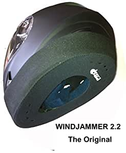 "WINDJAMMER 2 ""REDUCES WIND NOISE"" fits all Full Face Helmets. The original often copied ! (P&P FREE)"