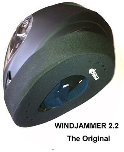 WINDJAMMER 2 'REDUCES WIND NOISE' fits all Full Face Helmets. The original often copied ! (P&P 99p Worldwide) by Proline