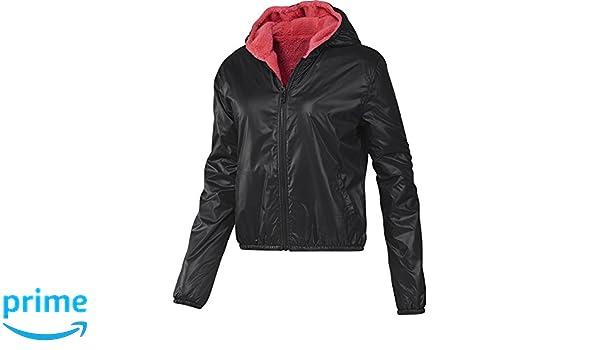 b573fe135 adidas Women's Neo R SHRP Reversible Jacket Ladies Coat Hooded Jacket  F83262: Amazon.co.uk: Clothing