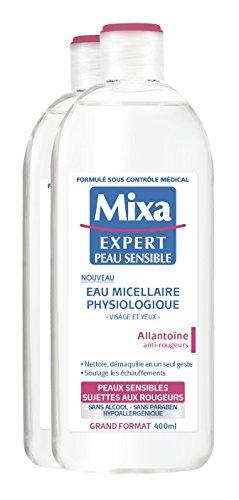 Mixa Expert Peau Sensible Eau Micellaire Physiologique - Lot de 2