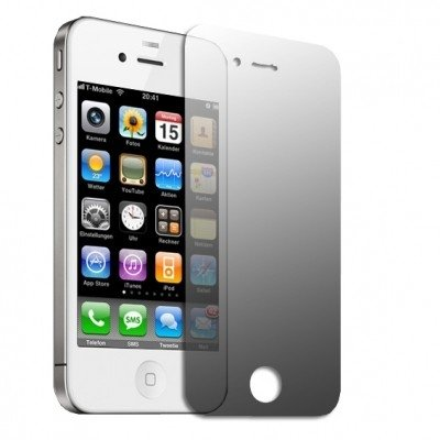 Logotrans Design Series Silikon Schutzhülle für Apple iPhone 4 schwarz Rot