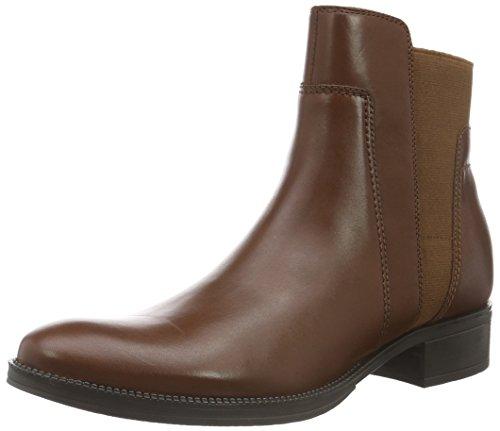 Geox Damen D Mendi Stivali A Chelsea Boots, Braun (BROWNC0013), 38 EU
