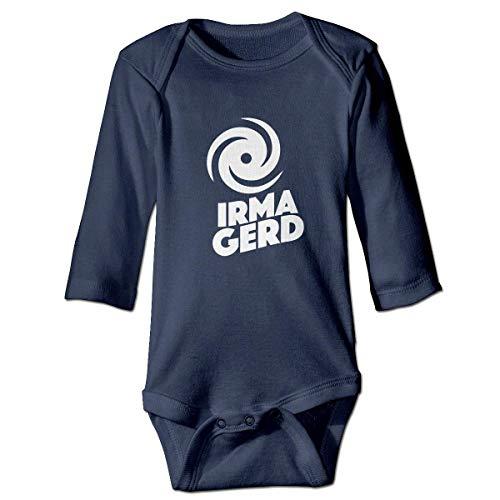 WBinHua T-Shirts für Baby-Jungen,Hurricane Irma Gerd! Baby Infant Long Sleeve Onesies Bodysuits -