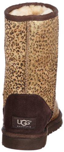 UGG Classic Short Metallic Leopard, Bottes Classiques femme Multicolore - Mehrfarbig (LMTL)