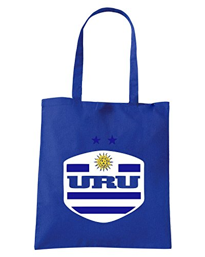 T-Shirtshock - Borsa Shopping WC0122 URUGUAY LA CELESTE Blu Royal
