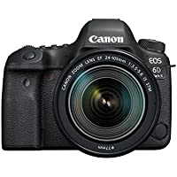 Canon EOS 6D Mark II Digital SLR Camera with EF 24 - 105 mm  f/3.5-5.6 IS STM Lens – Black