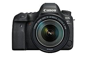 Canon EOS 6D Mark II Digital SLR Camera with EF 24 - 105 mm  f/3.5-5.6 IS STM Lens - Black