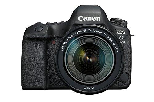 Canon EOS 6D MK II - Cámara digital réflex de 26.2 MP (pantalla táctil de 3.0'', Wifi, Bluetooth, Dual Pixel...