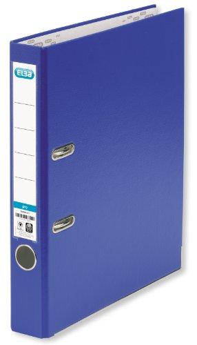 ELBA Ordner smart Pro 10er Pack 5 cm schmal DIN A4 blau mit Einsteckrückenschild